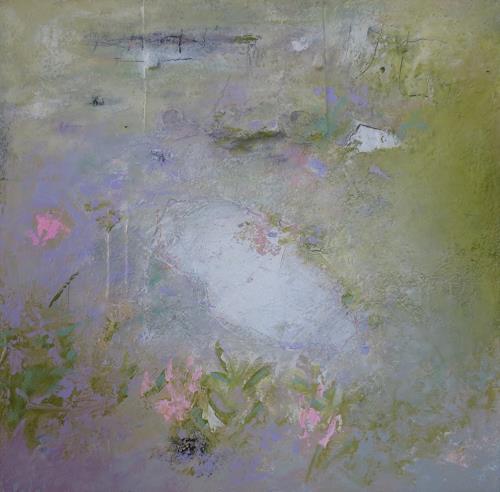 Christa Wetter, O. Titel, Abstraktes, Informel, Expressionismus