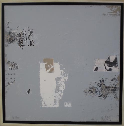 Christa Wetter, O. Titel, Abstraktes, Informel
