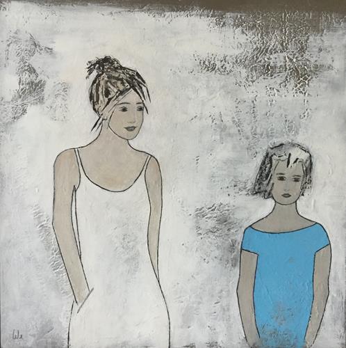 Christa Wetter, Geschwister, Menschen: Kinder, Abstrakte Kunst