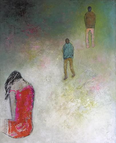 Christa Wetter, Enttäuschung, Menschen, Abstrakte Kunst