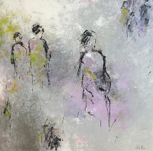 Christa Wetter, gemeinsam, Menschen, Abstrakte Kunst