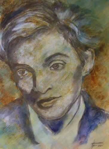 Helga Matisovits, Oskar Werner, Menschen: Porträt, Menschen: Mann