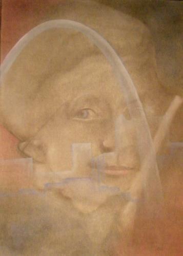 Helga Matisovits, Noch immer, Menschen: Porträt, Gefühle: Geborgenheit, Naturalismus