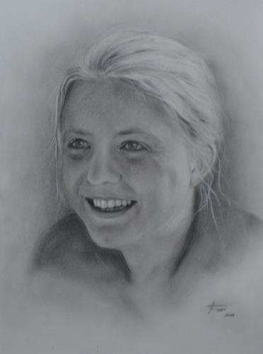 Helga Matisovits, OT, Menschen: Porträt, Gefühle