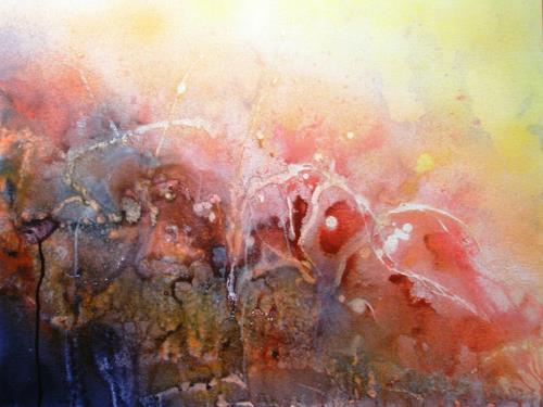 Helga Matisovits, Affig, Bewegung, Abstraktes, Expressionismus