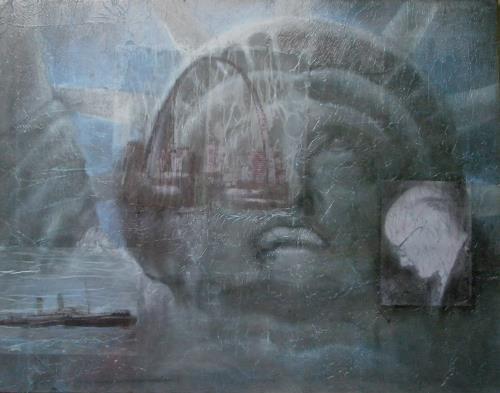 Helga Matisovits, Mein Amerika, Menschen: Mann, Zeiten: Früher, Abstrakter Expressionismus