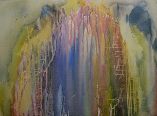 Helga Matisovits, Visionen, Gefühle, Fantasie, Expressionismus