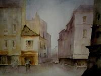 H. Matisovits, Die Stadt erwacht