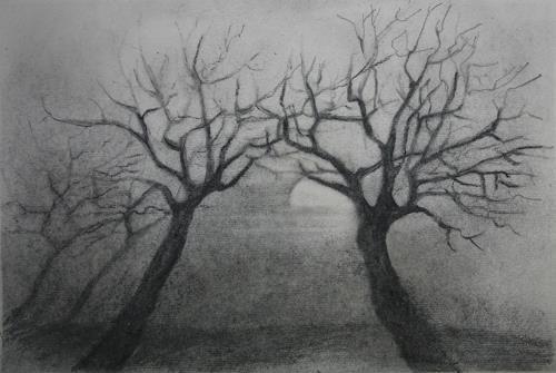 Helga Matisovits, Zuneigung, Natur, Pflanzen: Bäume