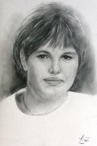 Helga Matisovits, 49 years ago, Menschen: Porträt, Menschen: Frau, Fotorealismus