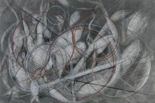 Helga Matisovits, O.T., Abstraktes, Bewegung