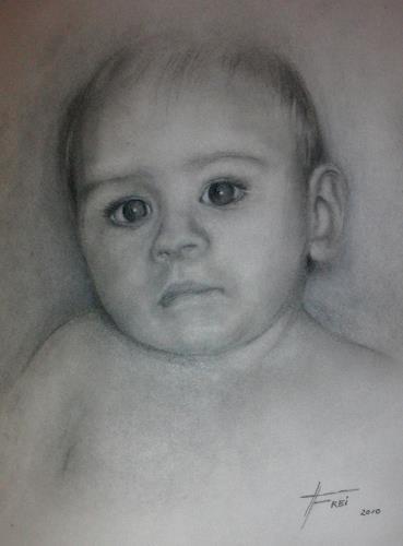 Helga Matisovits, Leo, Menschen: Porträt, Menschen: Kinder, Fotorealismus