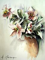 Helga-MATISOVITS-Pflanzen-Blumen-Stilleben