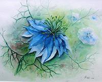 Helga-MATISOVITS-Pflanzen-Blumen-Landschaft-Fruehling