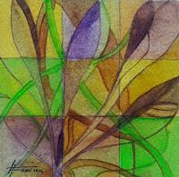 Helga-MATISOVITS-Pflanzen-Abstraktes