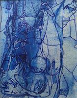 Helga-MATISOVITS-Abstraktes-Tiere