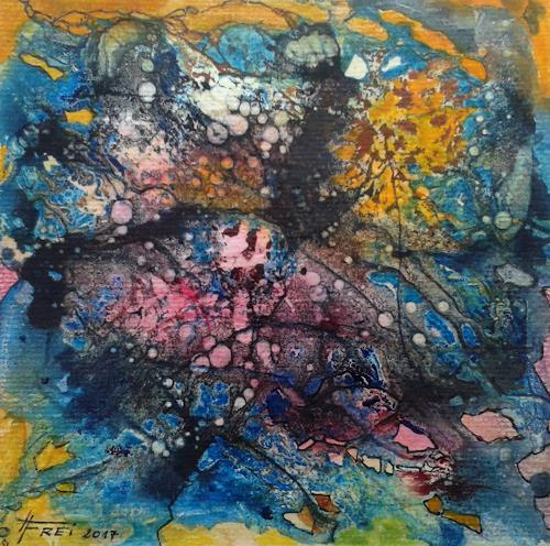 Helga Matisovits, O.T., Abstraktes, Gefühle, Abstrakte Kunst, Abstrakter Expressionismus