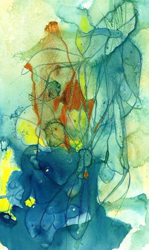 Helga Matisovits, Silvesterstimmung, Natur: Wasser, Tiere, Abstrakte Kunst