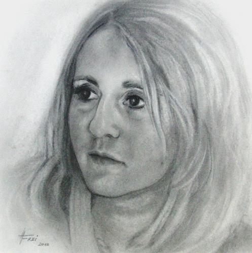 Helga Matisovits, NN, Menschen: Frau, Menschen: Porträt, Realismus