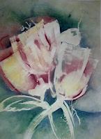 Helga-MATISOVITS-Fantasie-Pflanzen-Blumen-Moderne-Abstrakte-Kunst