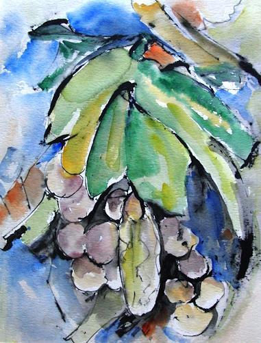 Helga Matisovits, Frutta, Pflanzen: Früchte, Ernte, Abstrakte Kunst