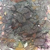 Helga-MATISOVITS-Natur-Wasser-Tiere-Wasser-Moderne-Abstrakte-Kunst
