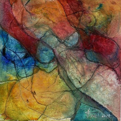 Helga Matisovits, WOMAN'S BODY, Akt/Erotik: Akt Frau, Bewegung, Abstrakte Kunst, Expressionismus
