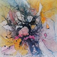 Helga-MATISOVITS-Abstraktes-Fantasie-Moderne-Abstrakte-Kunst