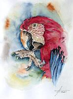 Helga-MATISOVITS-Tiere-Tiere-Luft-Moderne-Abstrakte-Kunst