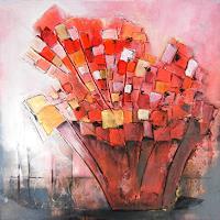 Antoinette-Luechinger-Abstraktes-Pflanzen-Blumen