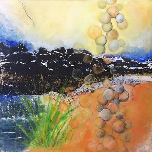 Antoinette Luechinger, Schöpfungskraft, Abstraktes, Diverses, Abstrakte Kunst, Abstrakter Expressionismus