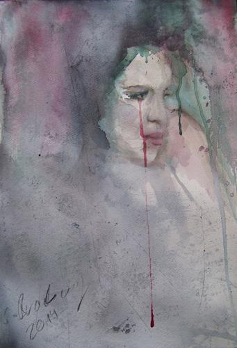 Sabine Brandenburg, o.T., Menschen: Frau, Diverse Gefühle