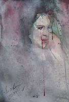 Sabine-Brandenburg-Menschen-Frau-Diverse-Gefuehle-Moderne-Abstrakte-Kunst