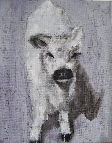 Sabine Brandenburg, Galloway, Tiere: Land, Gegenwartskunst