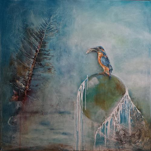 Sabine Brandenburg, o. T., Tiere: Luft, Natur: Wasser, Gegenwartskunst