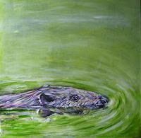 Sabine-Brandenburg-Tiere-Wasser-Natur-Wasser-Gegenwartskunst-Gegenwartskunst