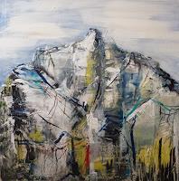 Sabine-Brandenburg-Landschaft-Berge-Landschaft-Huegel-Moderne-Expressionismus-Abstrakter-Expressionismus