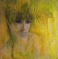 Sabine-Brandenburg-Menschen-Frau-Menschen-Gesichter-Gegenwartskunst-Gegenwartskunst