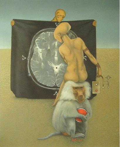 Eugen Blank, Ungeformtes, Symbol, Abstrakter Expressionismus