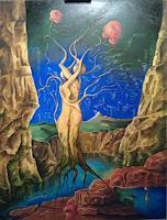 Peter-Richter-Fantasie-Diverse-Erotik-Moderne-Symbolismus