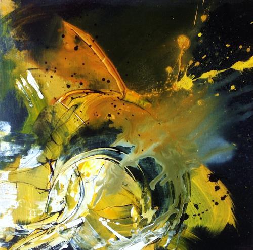 Ursi Goetz, Entwirrung, Fantasie, Abstrakter Expressionismus