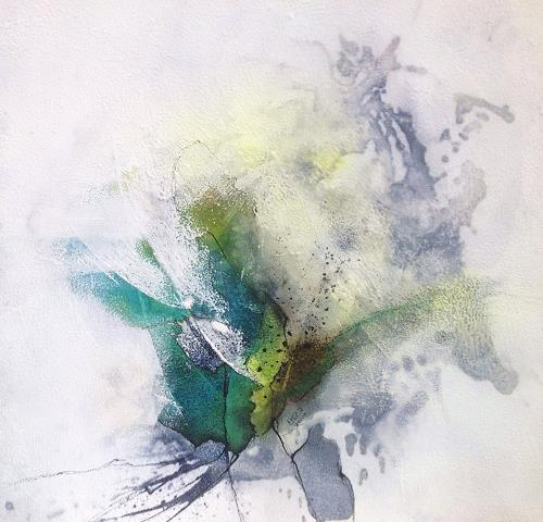 Ursi Goetz, Alles in Allem l, Abstraktes, Bewegung, Expressionismus