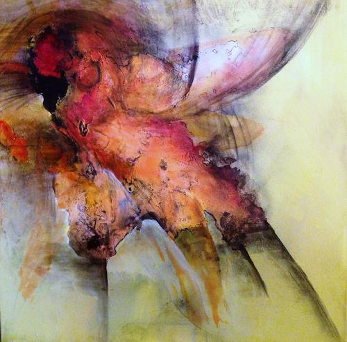 Ursi Goetz, Flieg kleiner Phönix flieg..., Gefühle, Fantasie, Abstrakter Expressionismus