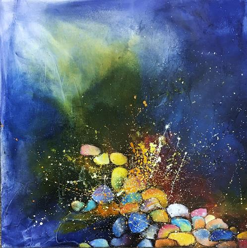 Ursi Goetz, Ohne Titel, Natur, Abstraktes, Expressionismus