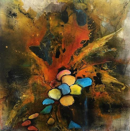 Ursi Goetz, Noch kein Titel, Abstraktes, Abstrakter Expressionismus