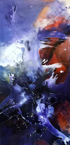 Ursi Goetz, Quelle, Abstraktes, Gefühle, Abstrakte Kunst