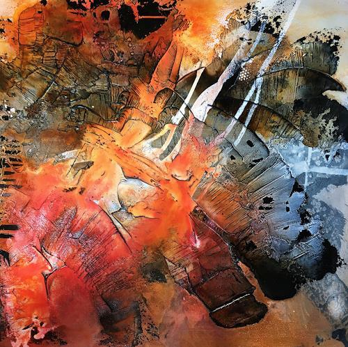 Ursi Goetz, Farbe spüren, Abstraktes, Abstrakte Kunst, Expressionismus