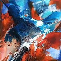 Ursi-Goetz-Abstraktes-Diverse-Gefuehle-Moderne-Abstrakte-Kunst-Action-Painting