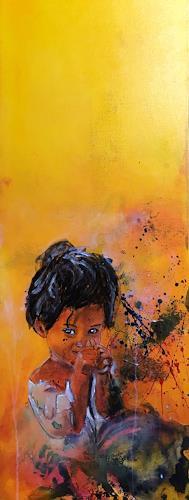 Ursi Goetz, Mädchen, Menschen: Kinder, Aktionskunst