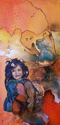 Ursi Goetz, Im Frühlingskleid, Menschen: Kinder, Abstraktes, Aktionskunst